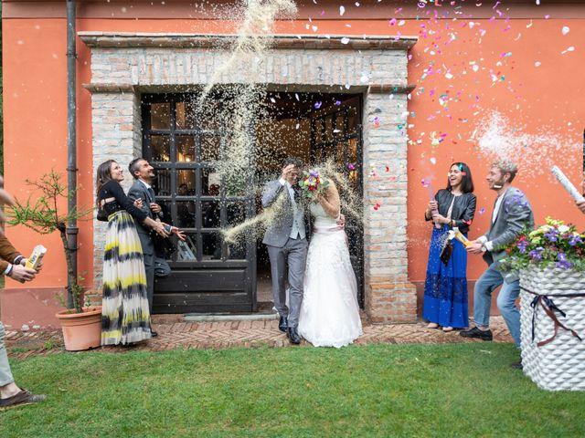Il matrimonio di Simone e Laura a Montebello della Battaglia, Pavia 39