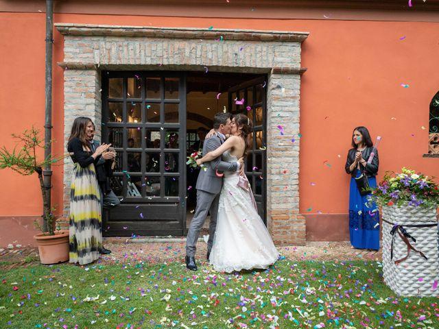 Il matrimonio di Simone e Laura a Montebello della Battaglia, Pavia 40