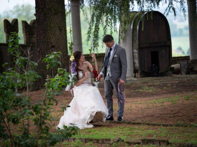 Il matrimonio di Simone e Laura a Montebello della Battaglia, Pavia 49