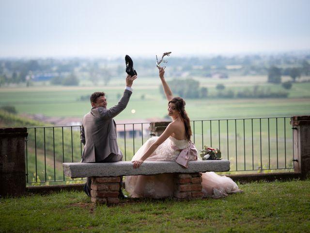 Il matrimonio di Simone e Laura a Montebello della Battaglia, Pavia 53