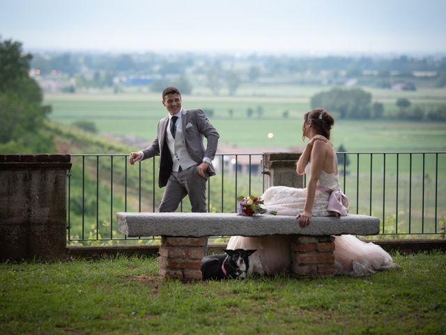 Il matrimonio di Simone e Laura a Montebello della Battaglia, Pavia 54