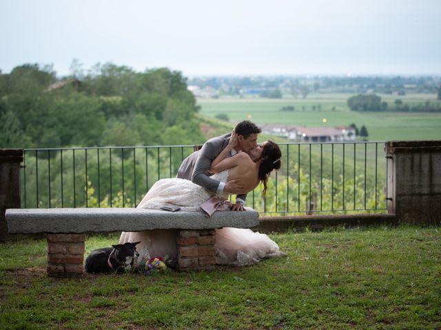 Il matrimonio di Simone e Laura a Montebello della Battaglia, Pavia 55