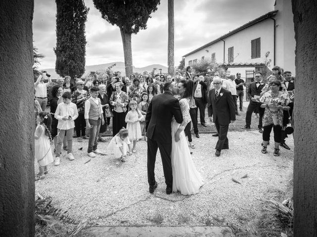 Il matrimonio di Alessandro e Francesca a San Giuliano Terme, Pisa 44