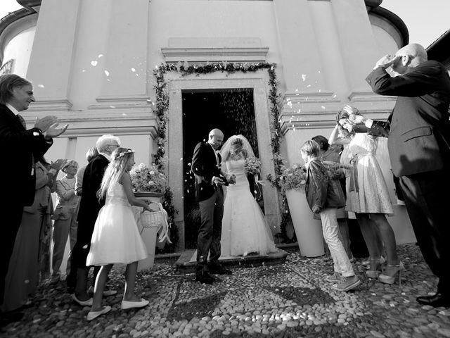 Il matrimonio di Laura e Paolo a Suno, Novara 10