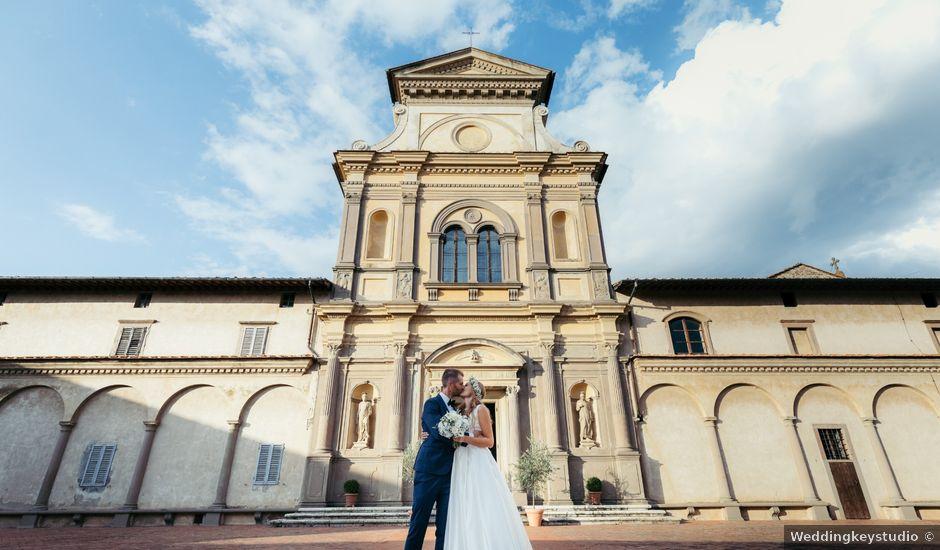 Il matrimonio di Matteo e Francesca a Firenze, Firenze