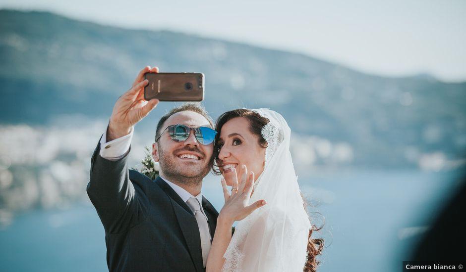 Il matrimonio di Francesco e Mena a Vico Equense, Napoli