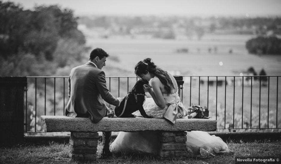 Il matrimonio di Simone e Laura a Montebello della Battaglia, Pavia