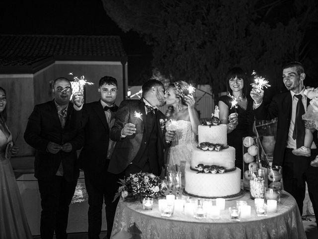 Le nozze di Tony e Letizia