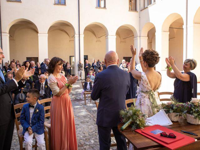 Il matrimonio di Luca e Alessia a Massa Martana, Perugia 33