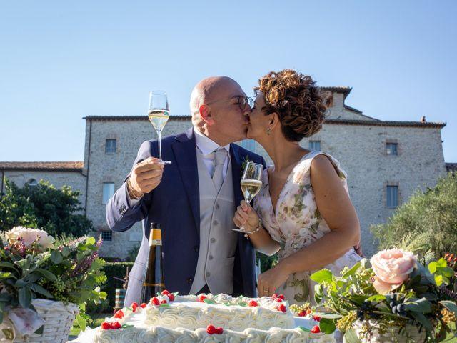 Il matrimonio di Luca e Alessia a Massa Martana, Perugia 56