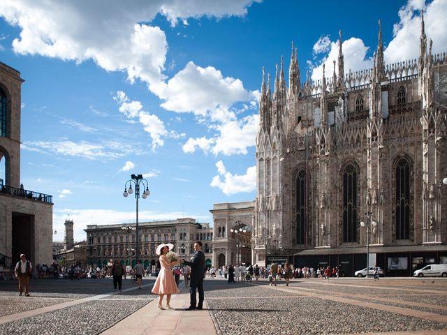 Il matrimonio di Andrea e Greta a Milano, Milano 17