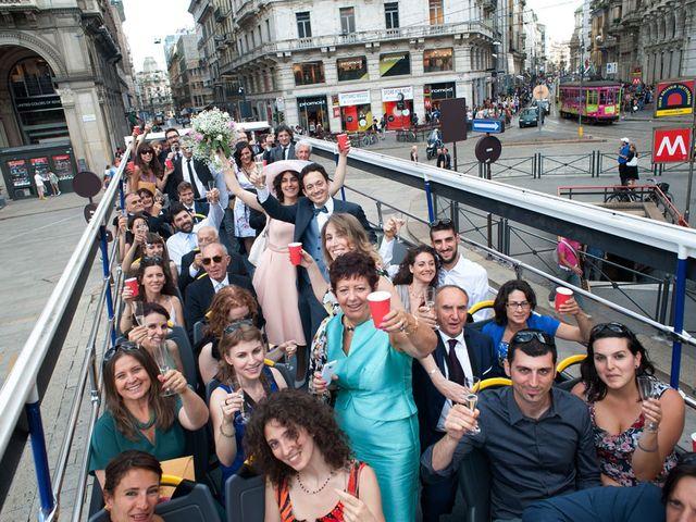 Il matrimonio di Andrea e Greta a Milano, Milano 21