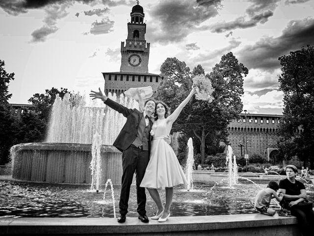 Il matrimonio di Andrea e Greta a Milano, Milano 22