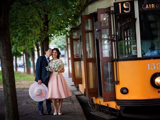Il matrimonio di Andrea e Greta a Milano, Milano 1