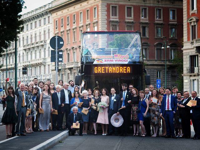 Il matrimonio di Andrea e Greta a Milano, Milano 23