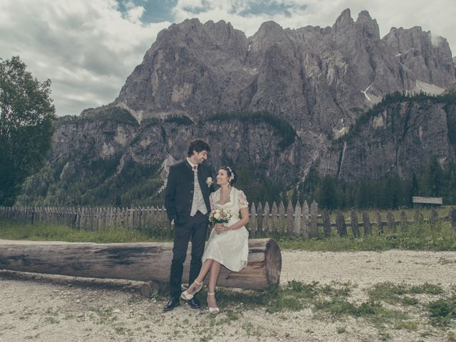Il matrimonio di Riccardo e Laura a Corvara in Badia- Corvara, Bolzano 26
