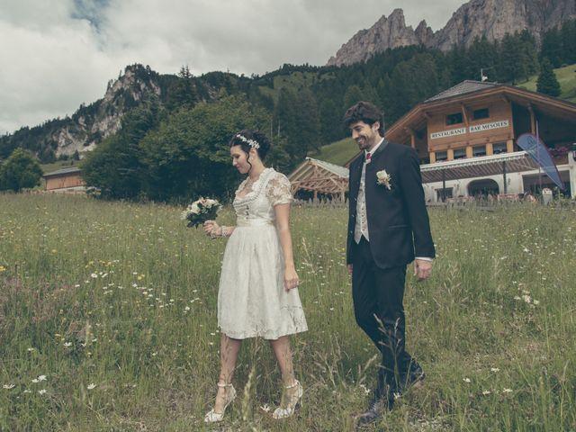 Il matrimonio di Riccardo e Laura a Corvara in Badia- Corvara, Bolzano 29