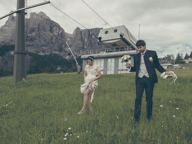 Il matrimonio di Riccardo e Laura a Corvara in Badia- Corvara, Bolzano 33