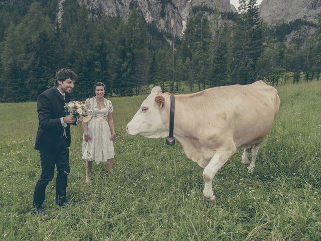 Il matrimonio di Riccardo e Laura a Corvara in Badia- Corvara, Bolzano 34