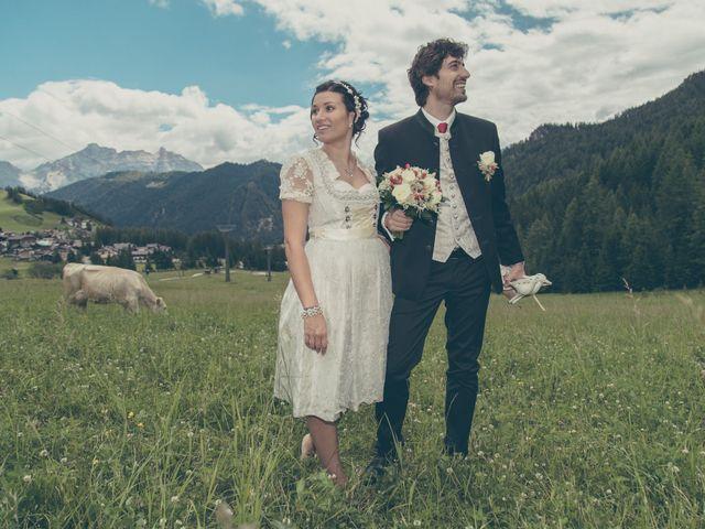 Il matrimonio di Riccardo e Laura a Corvara in Badia- Corvara, Bolzano 35