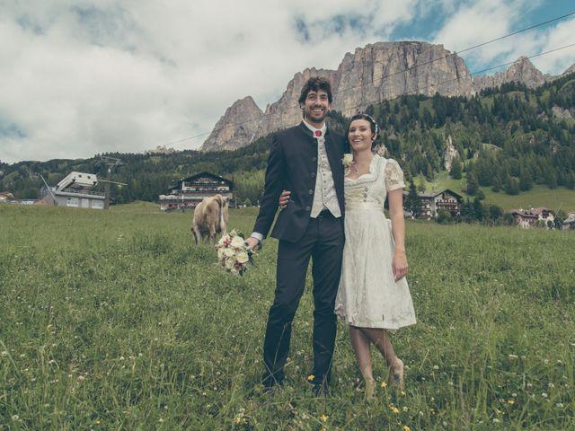Il matrimonio di Riccardo e Laura a Corvara in Badia- Corvara, Bolzano 36