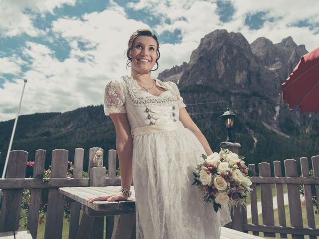 Il matrimonio di Riccardo e Laura a Corvara in Badia- Corvara, Bolzano 38