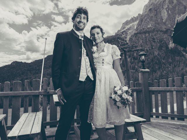 Il matrimonio di Riccardo e Laura a Corvara in Badia- Corvara, Bolzano 39