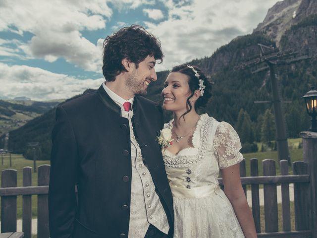 Il matrimonio di Riccardo e Laura a Corvara in Badia- Corvara, Bolzano 40