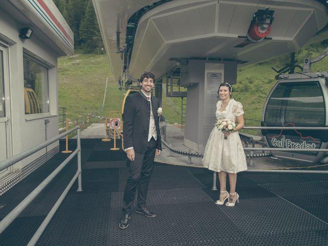 Il matrimonio di Riccardo e Laura a Corvara in Badia- Corvara, Bolzano 41