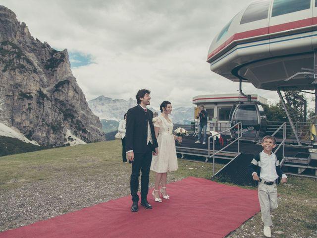 Il matrimonio di Riccardo e Laura a Corvara in Badia- Corvara, Bolzano 42