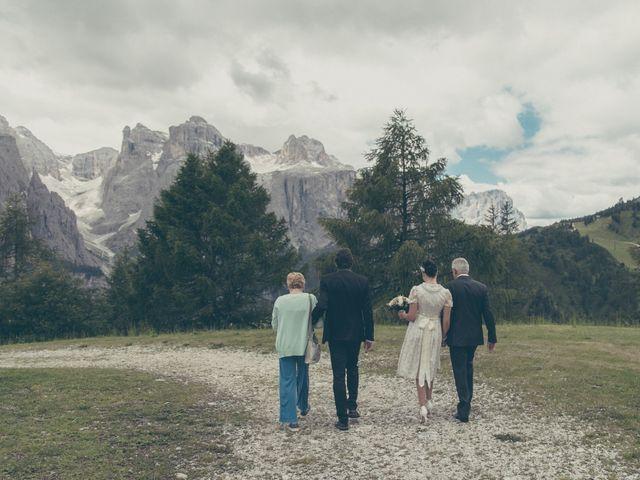 Il matrimonio di Riccardo e Laura a Corvara in Badia- Corvara, Bolzano 44