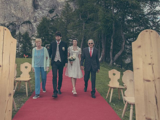 Il matrimonio di Riccardo e Laura a Corvara in Badia- Corvara, Bolzano 47
