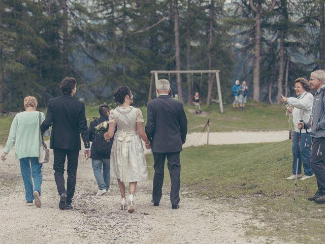 Il matrimonio di Riccardo e Laura a Corvara in Badia- Corvara, Bolzano 48