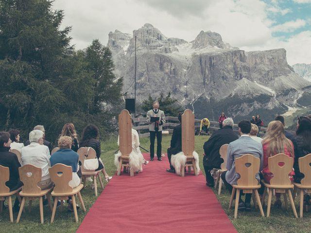 Il matrimonio di Riccardo e Laura a Corvara in Badia- Corvara, Bolzano 1