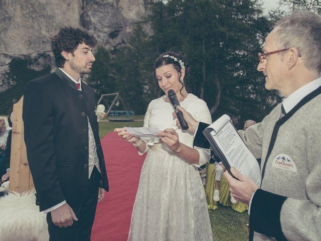 Il matrimonio di Riccardo e Laura a Corvara in Badia- Corvara, Bolzano 54