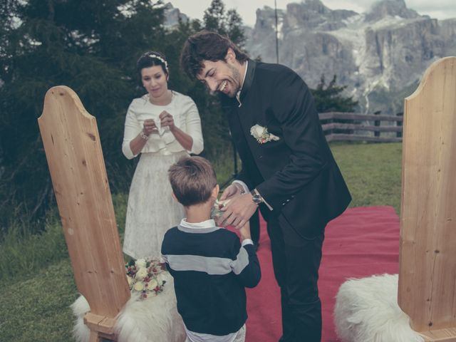 Il matrimonio di Riccardo e Laura a Corvara in Badia- Corvara, Bolzano 56