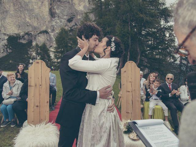 Il matrimonio di Riccardo e Laura a Corvara in Badia- Corvara, Bolzano 60