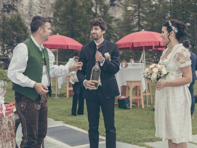 Il matrimonio di Riccardo e Laura a Corvara in Badia- Corvara, Bolzano 61