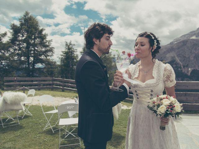 Il matrimonio di Riccardo e Laura a Corvara in Badia- Corvara, Bolzano 62