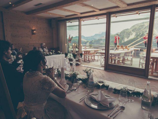 Il matrimonio di Riccardo e Laura a Corvara in Badia- Corvara, Bolzano 71