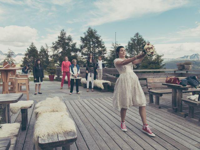 Il matrimonio di Riccardo e Laura a Corvara in Badia- Corvara, Bolzano 76