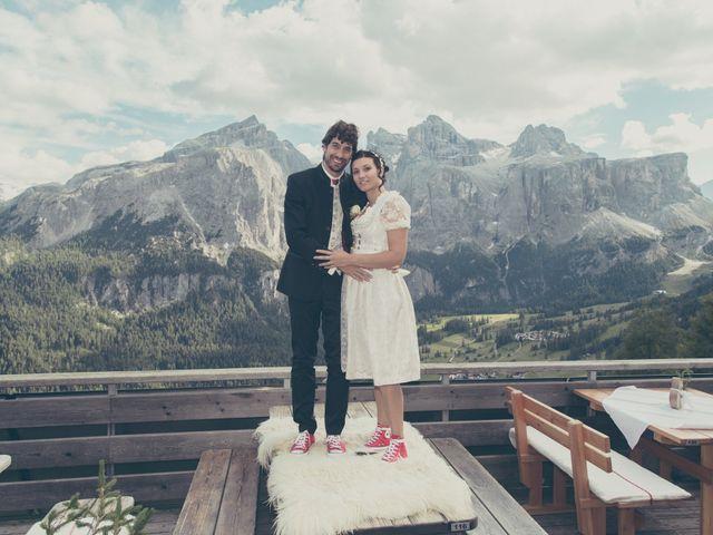 Il matrimonio di Riccardo e Laura a Corvara in Badia- Corvara, Bolzano 78