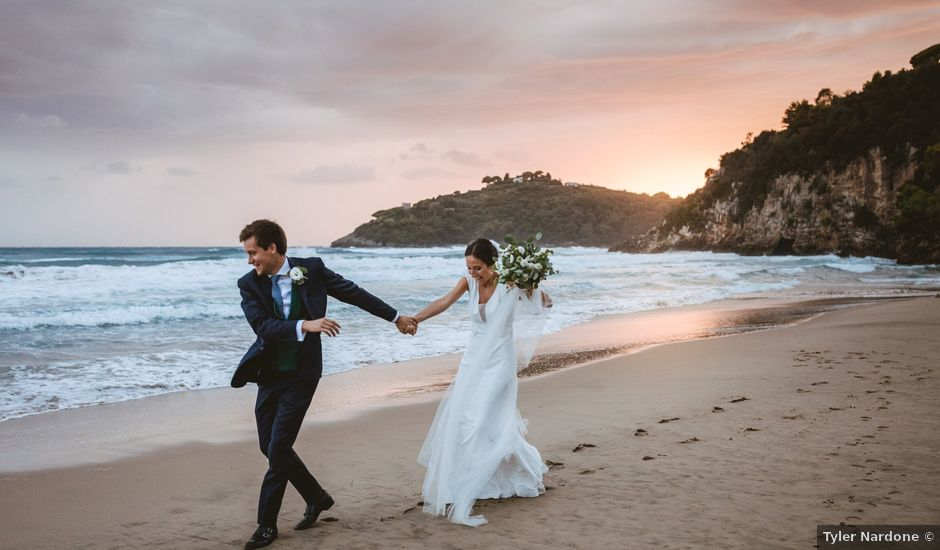 Il matrimonio di Martin e Hélène a Gaeta, Latina