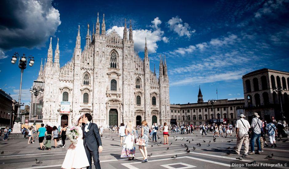 Il matrimonio di Andrea e Greta a Milano, Milano