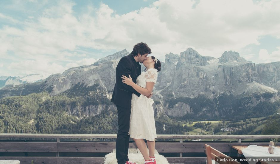 Il matrimonio di Riccardo e Laura a Corvara in Badia- Corvara, Bolzano
