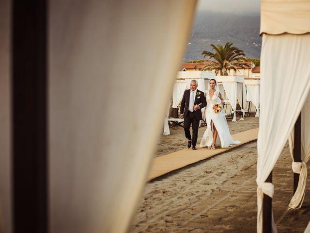 Il matrimonio di Damiano e Martina a Forte dei Marmi, Lucca 38