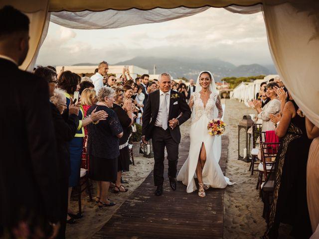 Il matrimonio di Damiano e Martina a Forte dei Marmi, Lucca 40