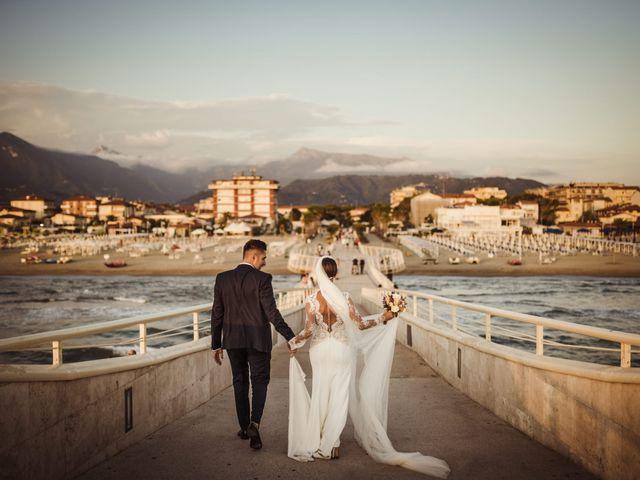 Il matrimonio di Damiano e Martina a Forte dei Marmi, Lucca 59