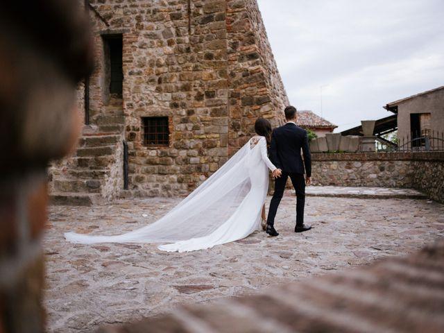 Il matrimonio di Pier e Diana a Arquà Petrarca, Padova 1