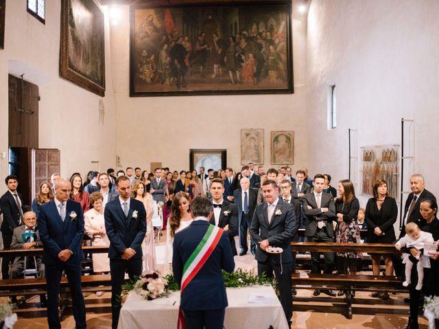 Il matrimonio di Pier e Diana a Arquà Petrarca, Padova 40